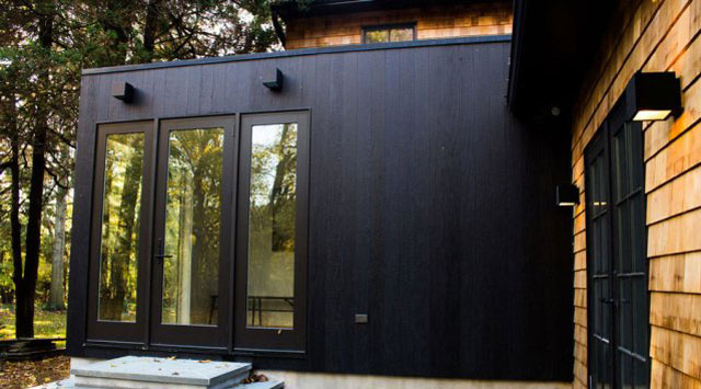 Shou Sugi Ban Burnt Wood Siding Green Home Guide Ecohome