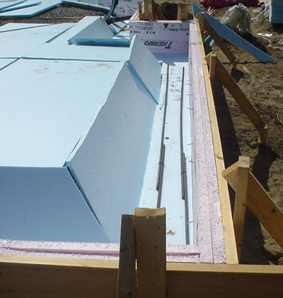 How to build a slab on grade green home guide ecohome for Concrete slab plans