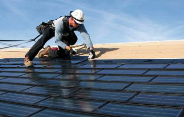 Installation of solar shingles
