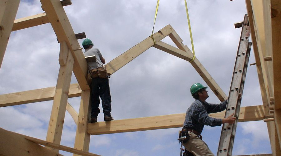 Wood Frame Construction Ecological And Durable Green