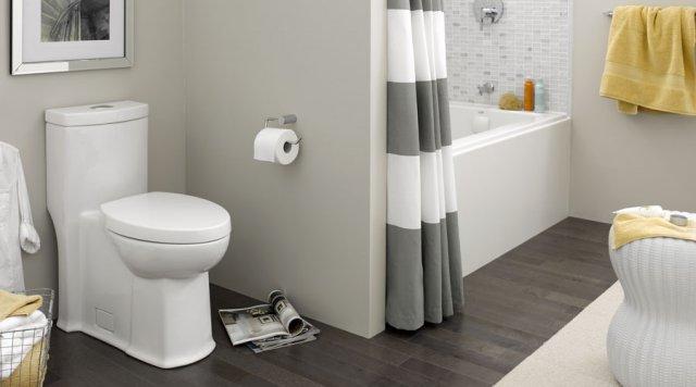 Water efficient Boulevard FloWise toilet from American Standard