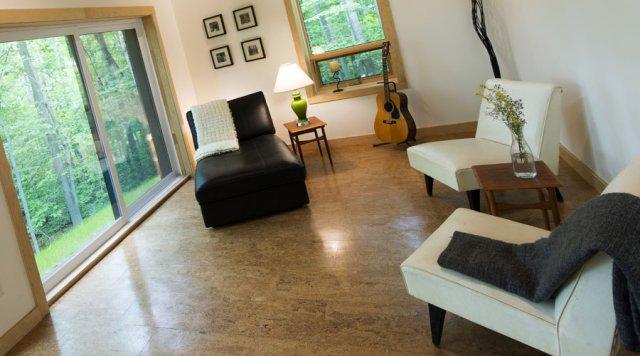 DIY cork flooring installation