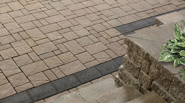 Hydr'eau Pave permeable landscaping pavers