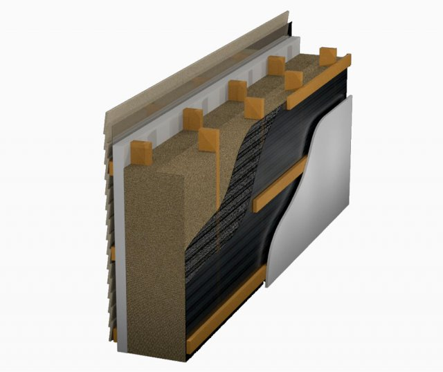 Dense-pack cellulose wall insulation