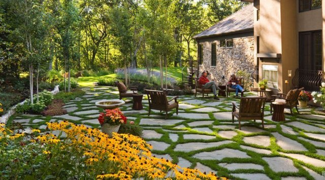 Landscaping Stones Windsor : All about water permeable paver stones and landscapes