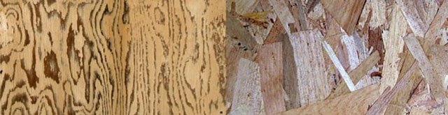 the difference between plywood and OSB
