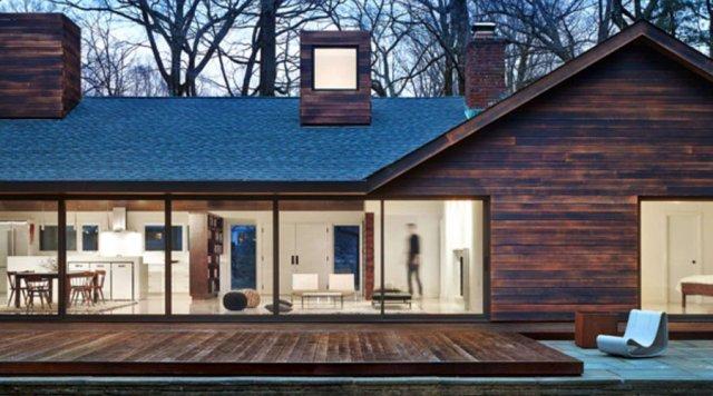 Shou sugi ban wood siding. Shou sugi ban burnt wood siding   Green Home Guide   Ecohome