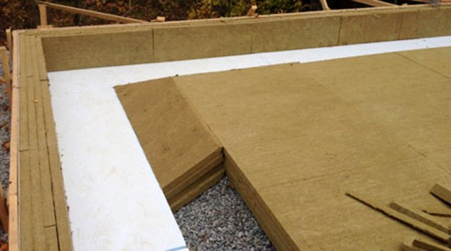 Slab On Grade Construction Of Ecohome Demo House Green
