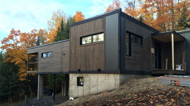 LEED Platinum prefab home