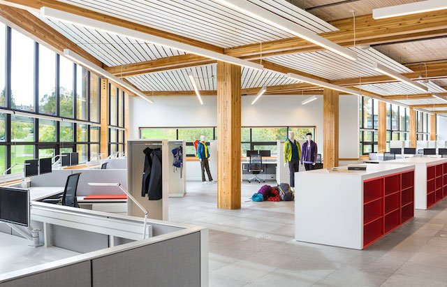 Mountain Equipment Co-op Head Office Passive Solar Lighting