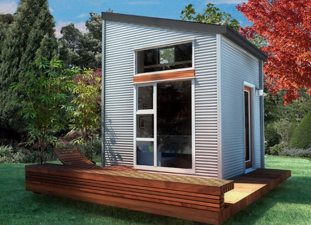 Sustainably built and affordable tiny house by NOMAD Micro Homes