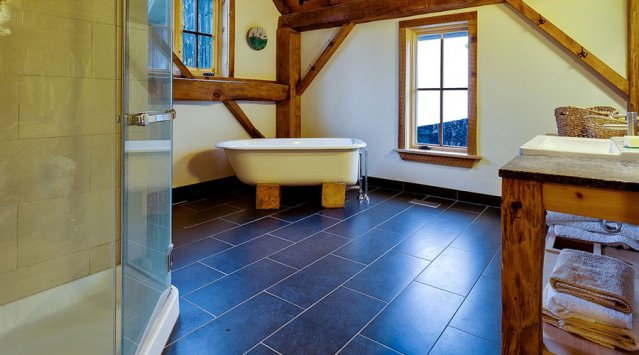 The merits of a radiant floor - video
