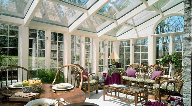 Solariums in cold climates won't heat your home