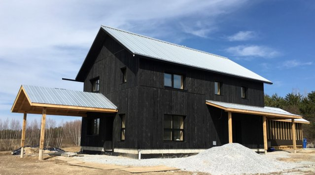 An owner/builder's account of building a Passive House