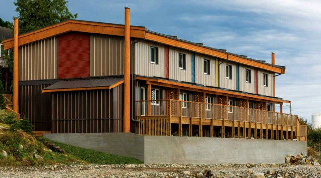 Multi-unit Passive House for Heiltsuk First Nation in British Columbia