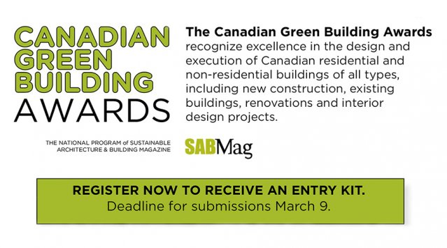 Got a Green Home You Want to Show Off? Nominate Yourself for an Award.