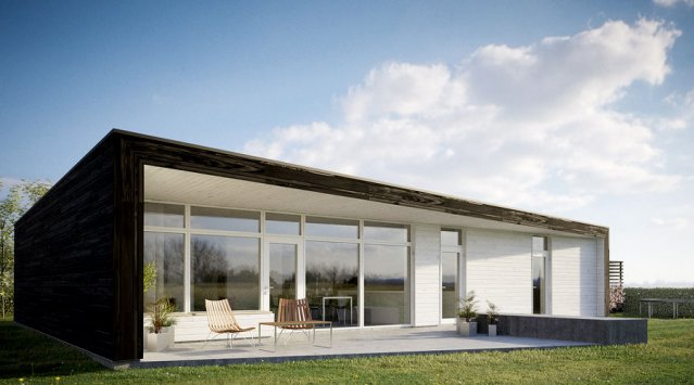 Passive solar home design green home guide ecohome for Moderni piani solari passivi