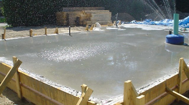 How to build a slab on grade green home guide ecohome for House slab foundation