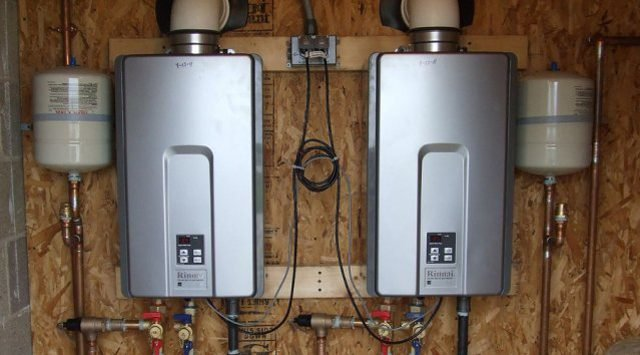 Water Heaters Instant Hot Water : On demand water heaters green home guide ecohome