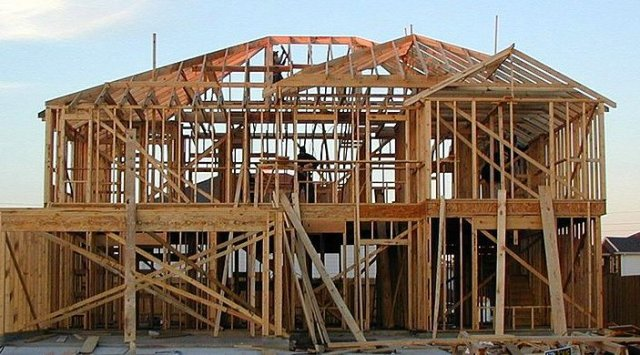 Material choices for wood frame constrution green home for Materials needed to build a house