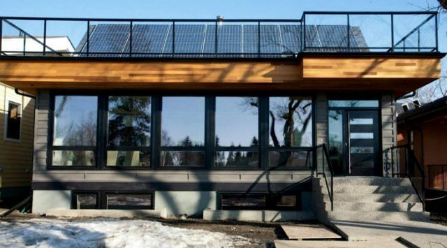 net zero energy home