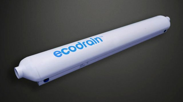 Ecodrain greywater recovery unit
