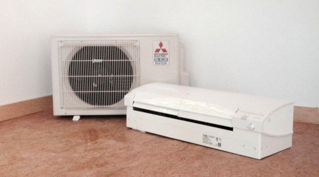 Mitsubishi Mr.Slim heat pump
