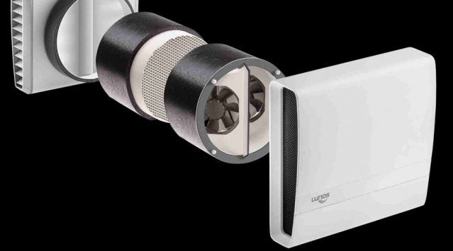 Heat Recovery Ventilation - Lunos  video