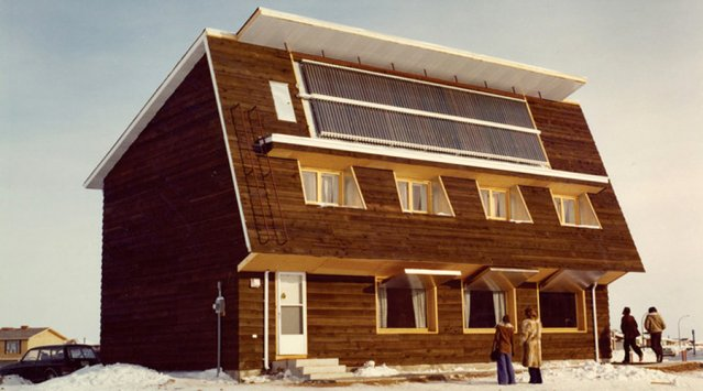 The first Passive House