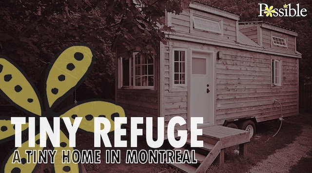 Miraculous Tiny Refuge A Tiny House In Montreal Video Tour News Ecohome Largest Home Design Picture Inspirations Pitcheantrous