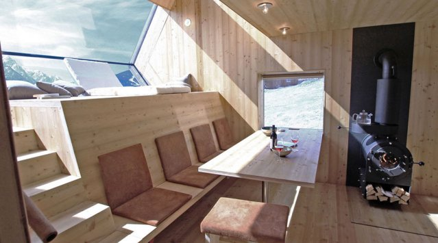 Strange Ufogel Tiny House In Austria News Ecohome Largest Home Design Picture Inspirations Pitcheantrous