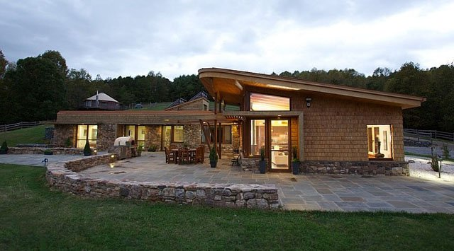 USGBC Outstanding Single Family Home of the Year Earthship Farmstead