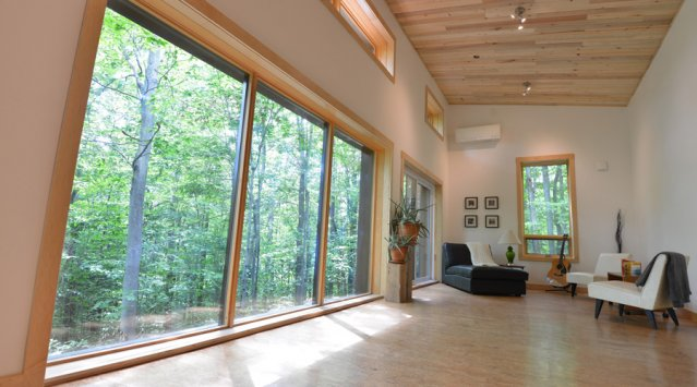 Elite windows in the LEED Platinum Edelweiss House