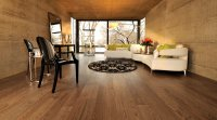 Naturally finished red oak floors