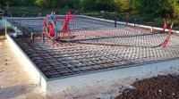 Prefab frost-protected shallow foundation form kit