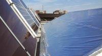 Solar panel reflectors