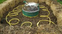 The Methane Midden compost water heater that surpassed its goal on kickstarter