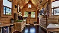 Tiny Tack House living room