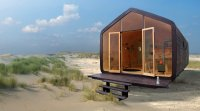 The Fiction Factory Wikkelhouse tiny house made of carboard