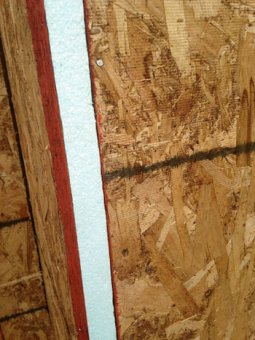 Insulated sheathing