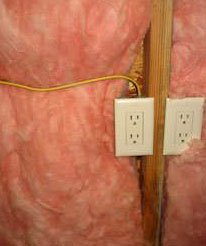 Poorly installed insulation causes heat loss and moisture damage inside of walls