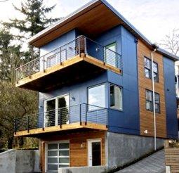 LEED Certified prefab home