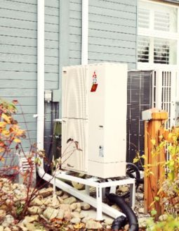 Zuba Central air source heat pump