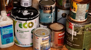 Old paint cans can affect indoor air quality (IAQ)