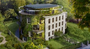 The Bubeneč Gardens Residence in Praque is an inspiring collection of sustainabl