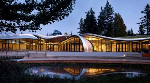 The VanDusen Botanical Garden Visitor Centre