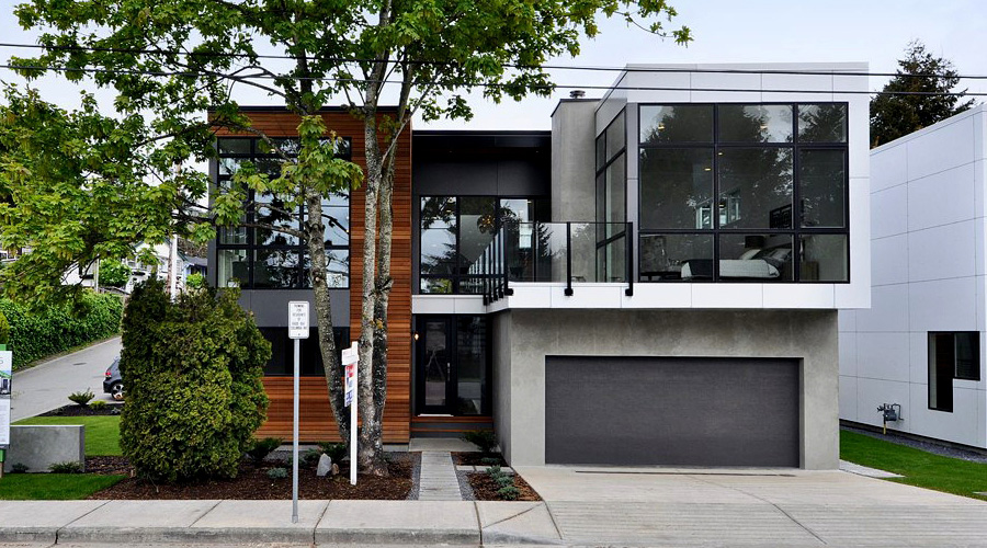 Leed pre fab homes news ecohome for Prefab garage ontario