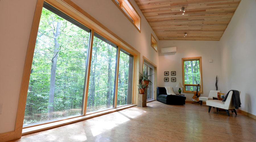 Canada 39 s first leed v4 platinum house news ecohome for Leed cabins