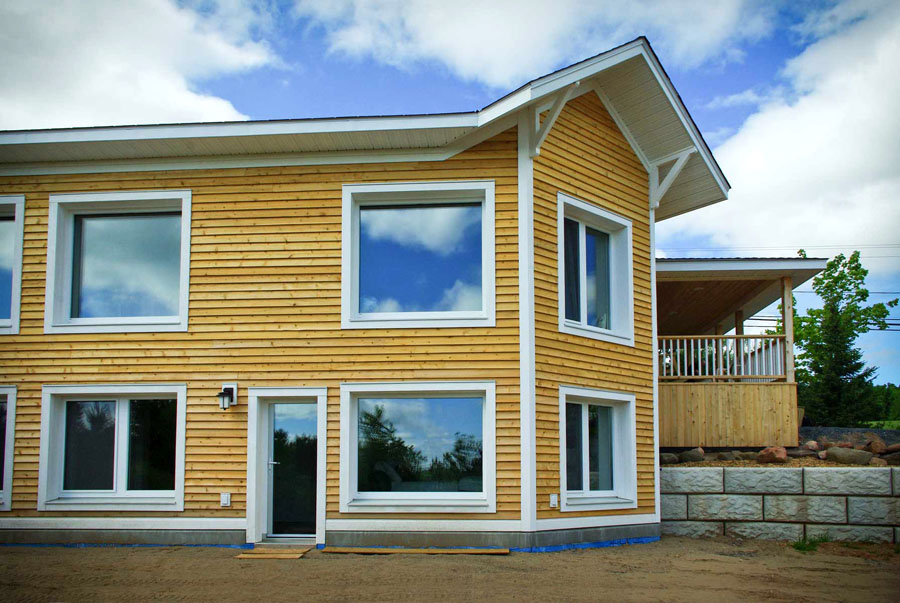 New brunswick 39 s most energy efficient home the naugler for Efficient homes