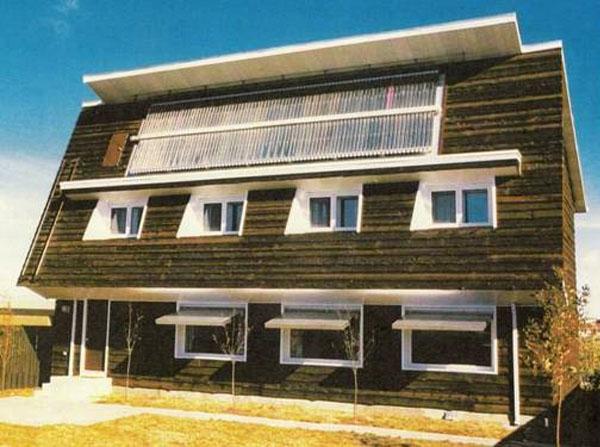 La première maison passive au monde, la Conservation House Saskatchewan